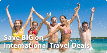 Book International Travel on CheapOair, Spring Sale